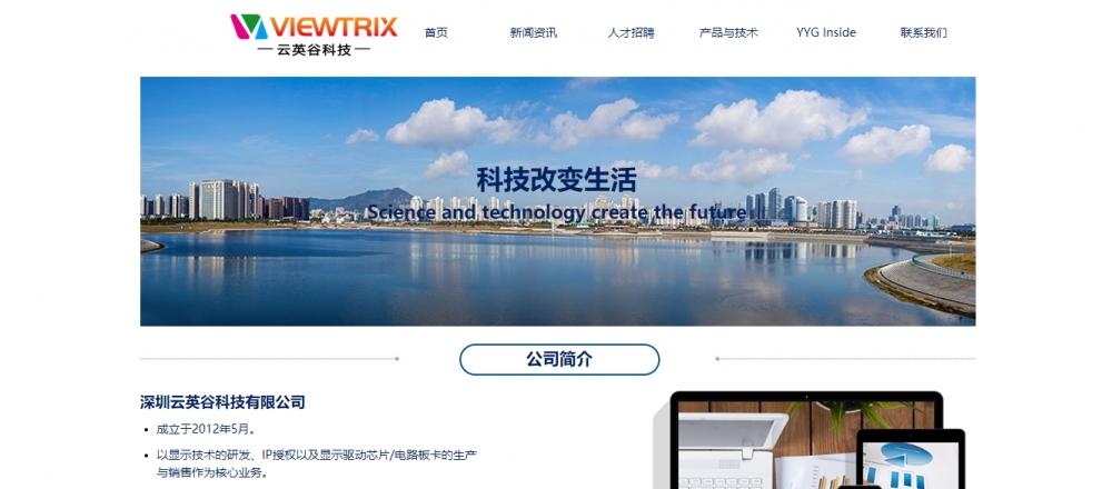 OLED Viewtrix (Yunyinggu) привлек $46 млн