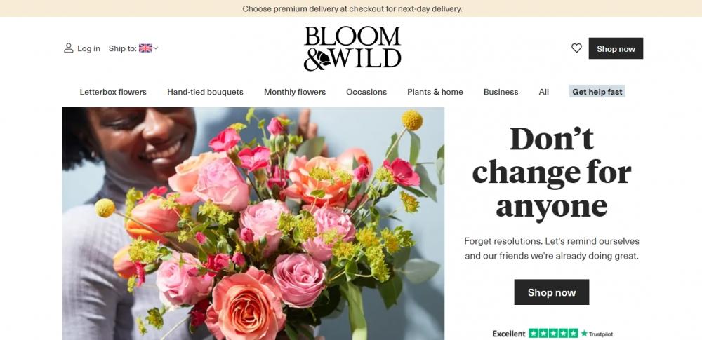 Bloom & Wild привлек £75 млн