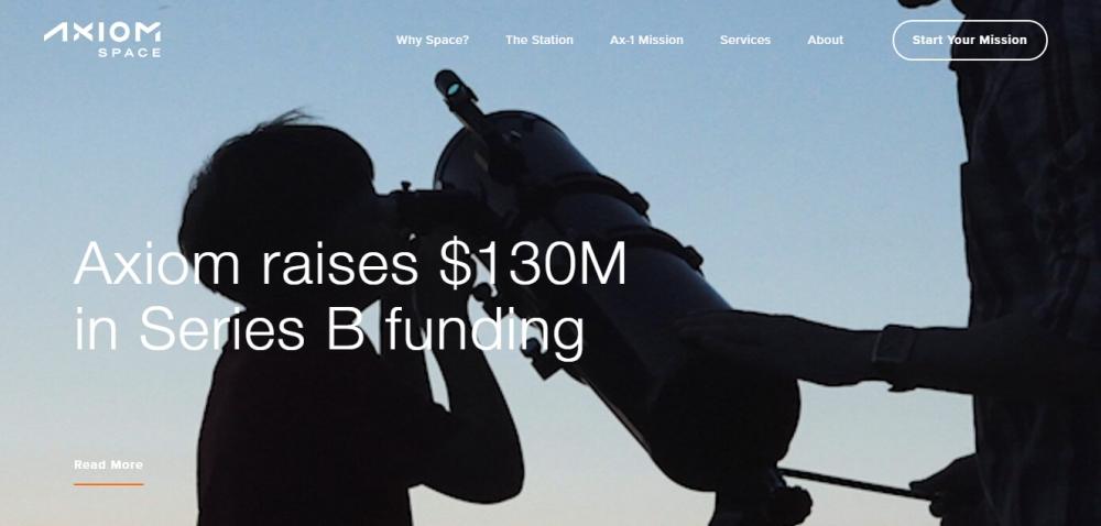 Axiom Space объявила о привлечении $130 млн