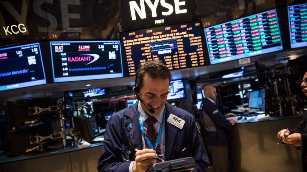 Dow Jones в минусе