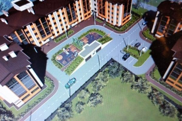Проект инвестиций для возведения 8-ми этажного жилого дома с квартирами площадью 5169 кв. м.