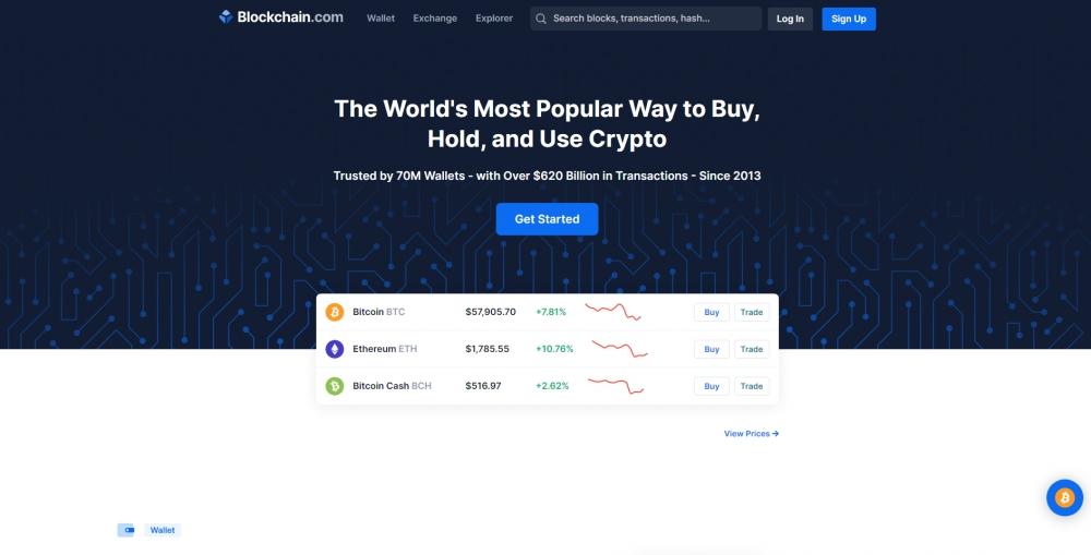 Blockchain.com привлек $300 млн