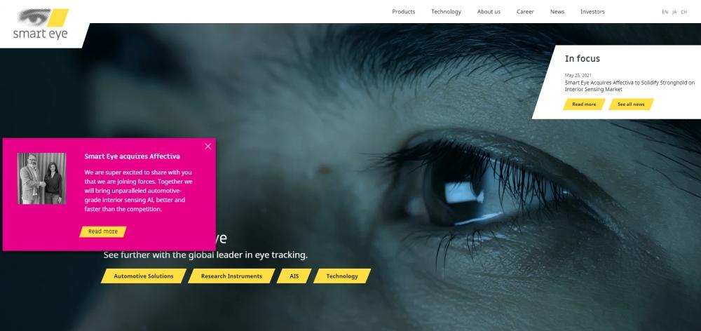 Smart Eye купила стартап по обнаружению эмоций Affectiva