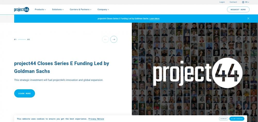 Project44 привлек $202 млн