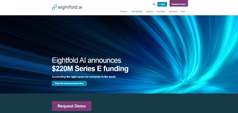 Eightfold AI объявил о привлечении $220 млн