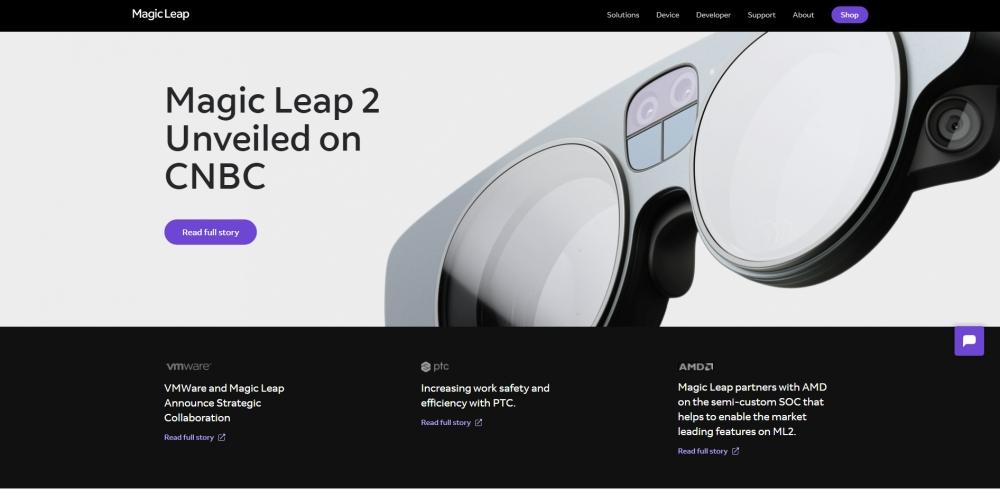 Magic Leap объявил о привлечении $500 млн