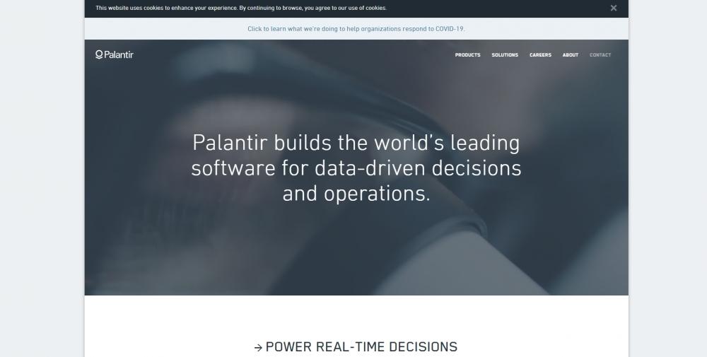 Palantir Technologies привлекла 54 млрд иен