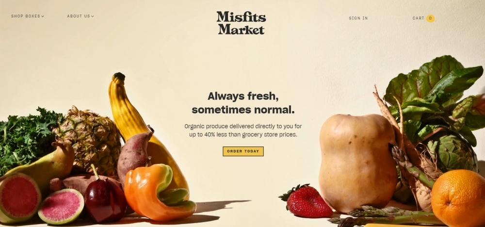Misfits Market привлек $85 млн