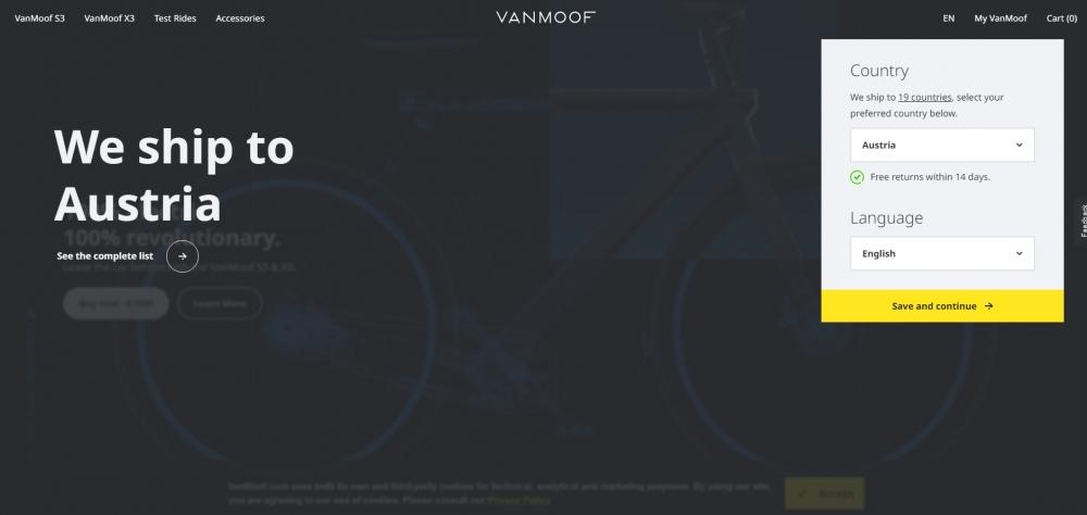 VanMoof привлек $40 млн