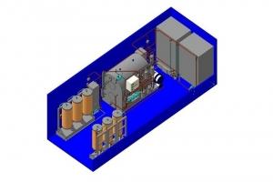 Производство мобильных станций типа МСРМ-1 по очистке эксплуатационных и отработанных энергетических масел