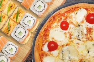 Пицца суши