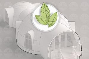 Строительство энергоэффективных купольных домов
