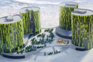 Быстровозводимые жилые комплексы для удалённых и неблагоприятных территорий РФ.