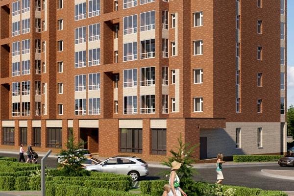 Строительство 2-х жилых домов площадью 8300 кв. м.